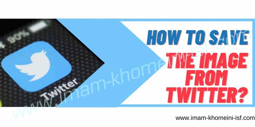 How to save the image from Twitter