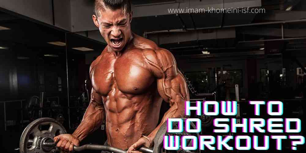 Shred workout