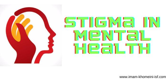 Stigma in mental health
