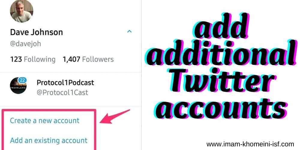 add additional Twitter accounts