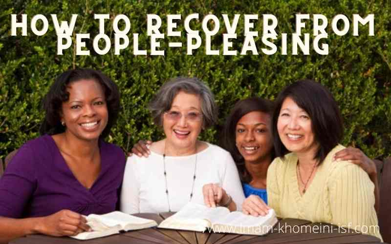 How to recover from people pleasing